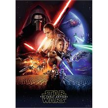 Trefl 500 Parça The Force Awakens Puzzle (Star Wars VII)