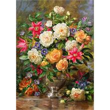 Trefl 4000 Parça Flowers for the Queen Elizabeth Puzzle