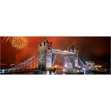 Heye 1000 Parçalı Panorama Tower Bridge Puzzle