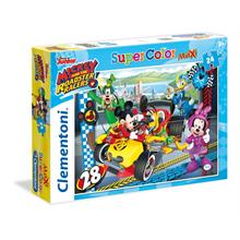 Clementoni 24 Parça Maxi Puzzle - Mickey and The Roadster Racers