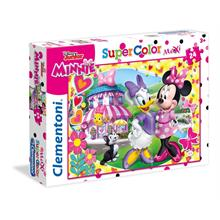 Clementoni 24480 24 Parça Minnie Mouse Maxi Puzzle (Happy Helper)