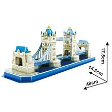 Cubic Fun 3D 52 Parça Puzzle Tower Bridge - İngiltere