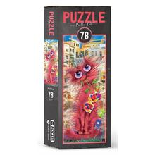 Blue Focus BF058 Pretty Cat 78 Parça Puzzle