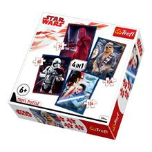 Trefl 4 lü Puzzle Ready for Battle / Lucasfilm Star Wars Episode VIII