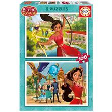 Educa Elena Of Avalor Disney 2x100 Parça Puzzle 17402