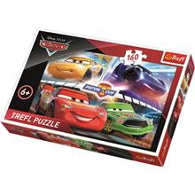 Trefl 160 Parça Cars 3 Winning The Race Disney Puzzle