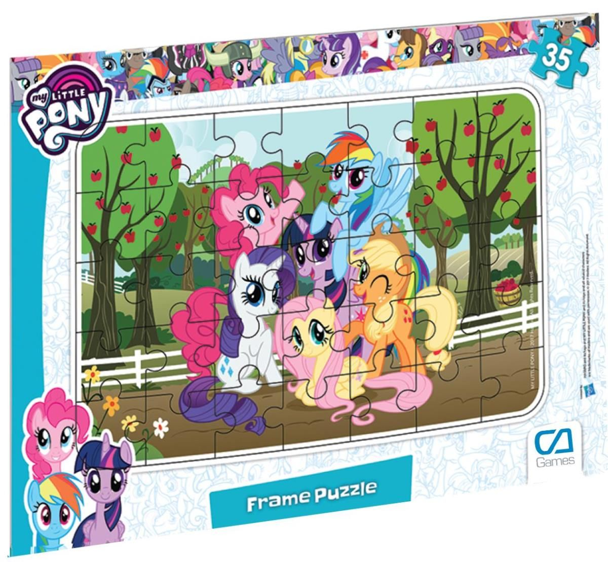 CA Games 35 Parça My Little Pony Frame Puzzle - 5015