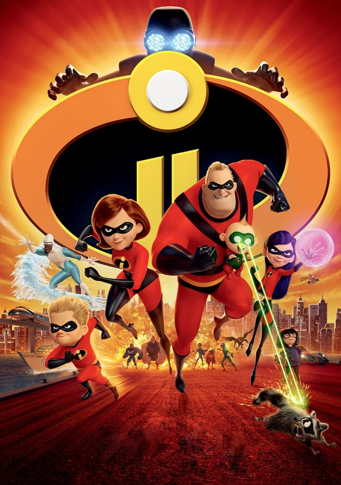 The Incredibles 100 Parça Puzzle