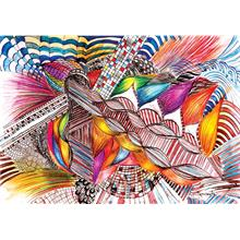KS Games Colorfull Abstract 1000 Parça Puzzle - Ayşe Demirsoylu