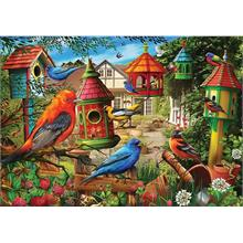 KS Games 3000 Parça Bird House Gardens Puzzle - Ciro Marchetti