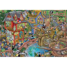 KS Games 2000 Parça Pontcheffs Harbour Puzzle - Steve Skelton