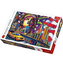 Trefl 10523 Colours Of New York 1000 Parça Puzzle