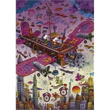 Heye Fly With Me! Guillermo Mordillo - 1000 Parçalık Puzzle