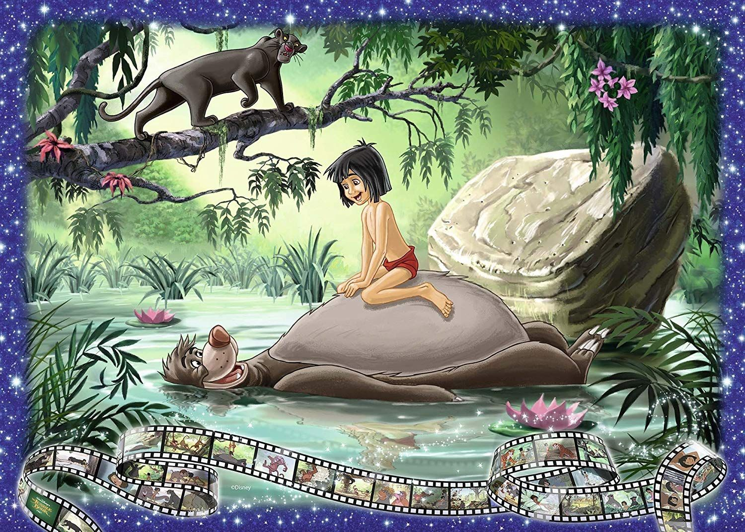 Ravensburger The Jungle Book 1000 Parçalık Puzzle