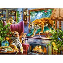 Castorland 3000 Parça Tigers Coming to Life Puzzle