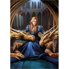 Educa 1000 Parça Fierce Loyalty Anne Stokes Puzzle