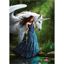 Educa 500 Parça Enchanted Pool Anne Stokes Puzzle
