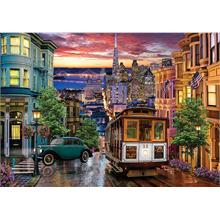 Ks Games 3000 Sunset İn San Francisco Puzzle