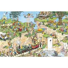 Jumbo 1500 Parça Puzzle The Golf Course