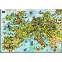 Heye 4000 Parça Puzzle United Dragons of Europe, Degano