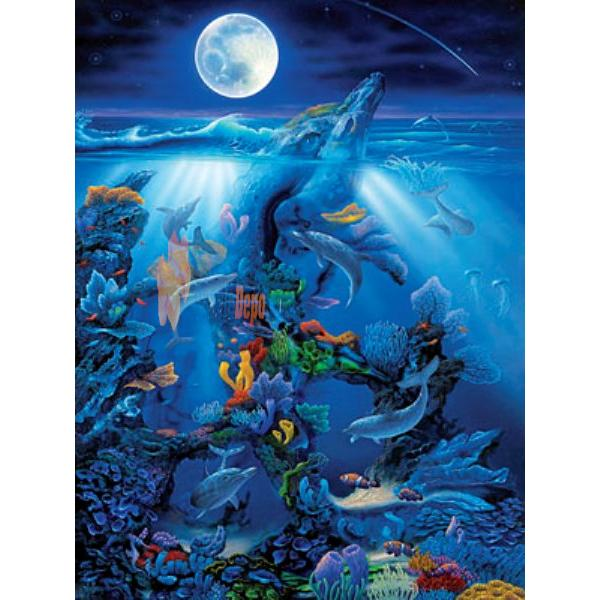 Masterpieces 500 Parça Puzzle Dolphin Reef