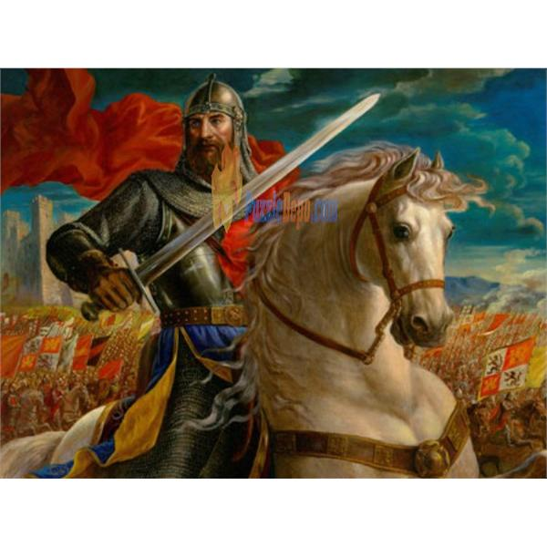 Masterpieces 550 Parça Puzzle The Warrior King