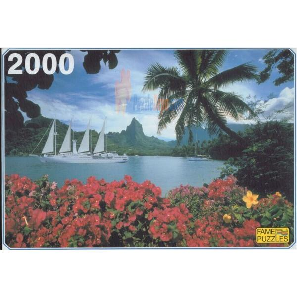 Fame 2000 Parça Puzzle South Lake Cooke