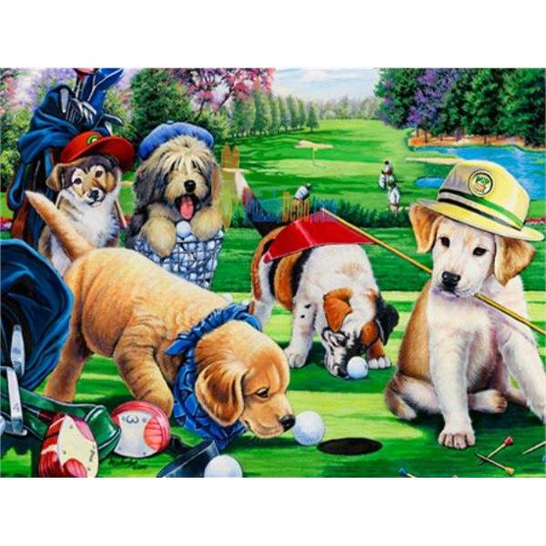 Masterpieces 750 Parça Puzzle Putting Puppies