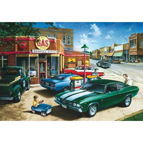 Masterpieces 500 Parça Puzzle Metal Kutu Muscle Car Dreams