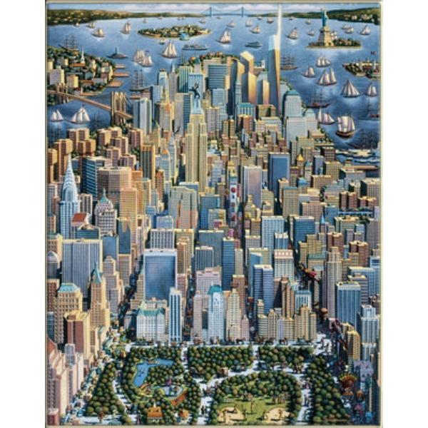 Masterpieces 1000 Parça Puzzle New York City