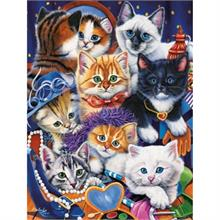 Masterpieces 750 Parça Puzzle Dress Up Kittens