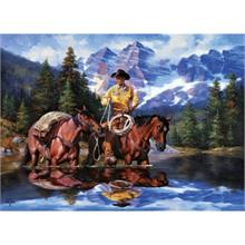 Masterpieces 1000 Parça Puzzle Reflections Of The Rockies