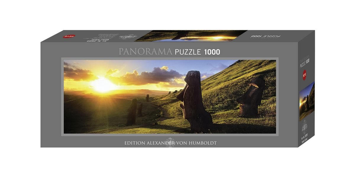 Heye 1000 Parça Panorama Puzzle Easter Island