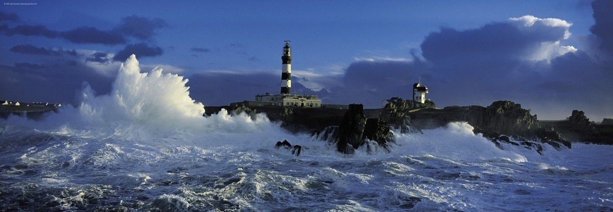 Heye 1000 Parça Panorama Puzzle Lighthouse Le Creach