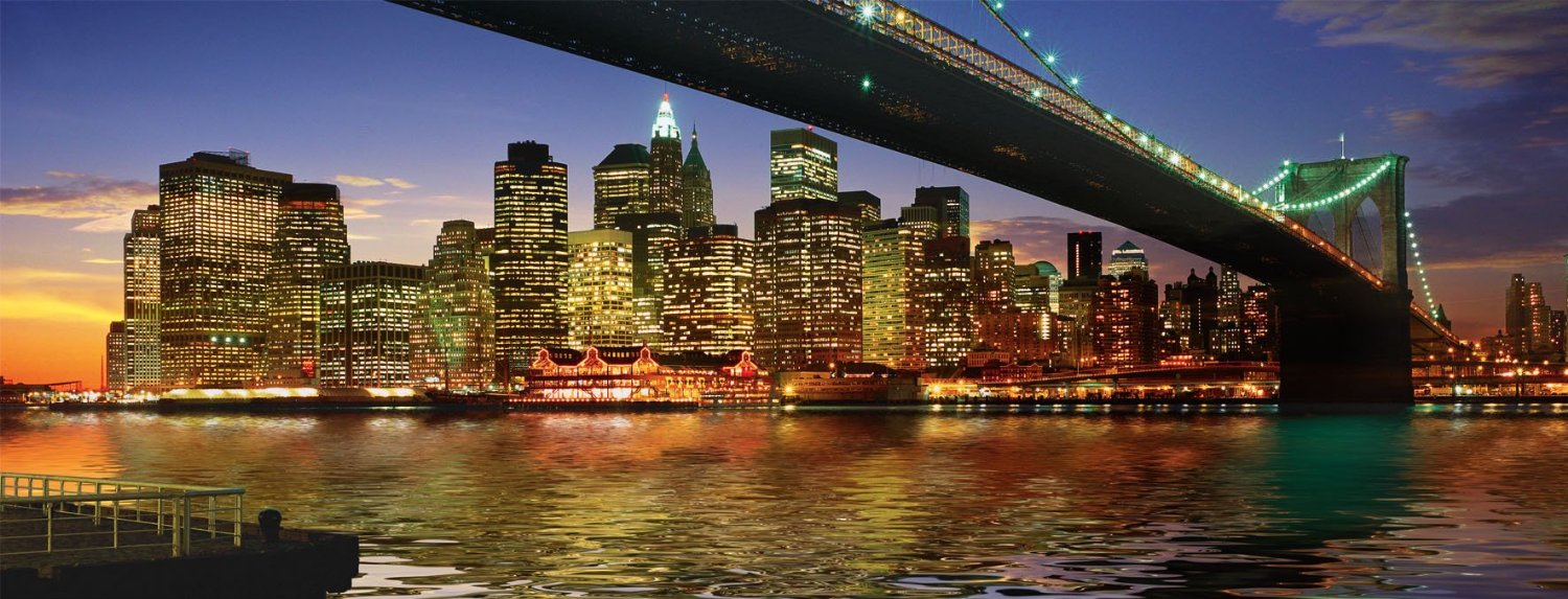 Ravensburger 1000 Parça Puzzle Brooklyn Bridge