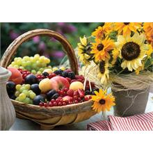 Ks Games 1000 Parça Puzzle Fruit And Sunflower