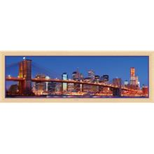 Masterpieces 1000 Parça Panoramik Puzzle New York City, NY
