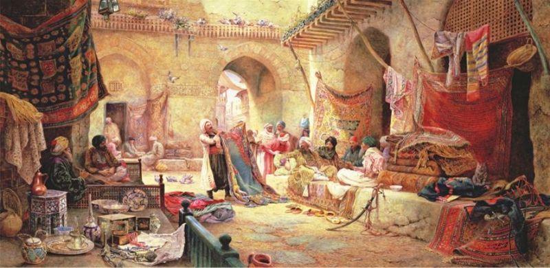 Anatolian 1500 Par 231 A Panorama Puzzle Halı Pazarı