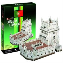 Cubic Fun 3 Boyutlu Puzzle Belem Tower