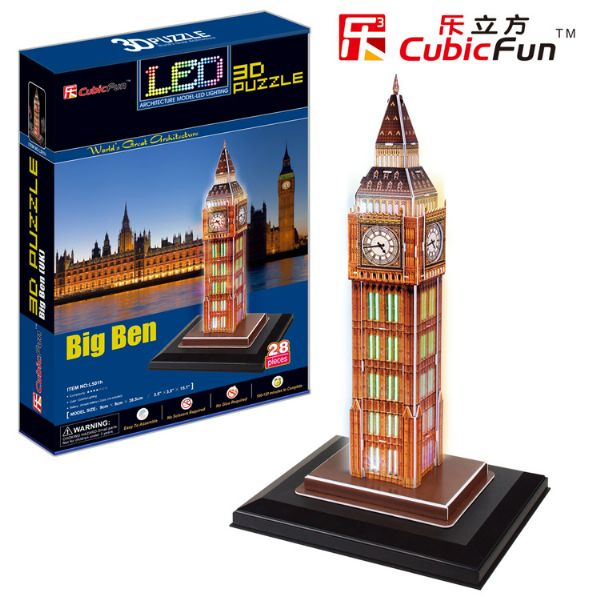 Cubic Fun 3D Puzzle Big Ben