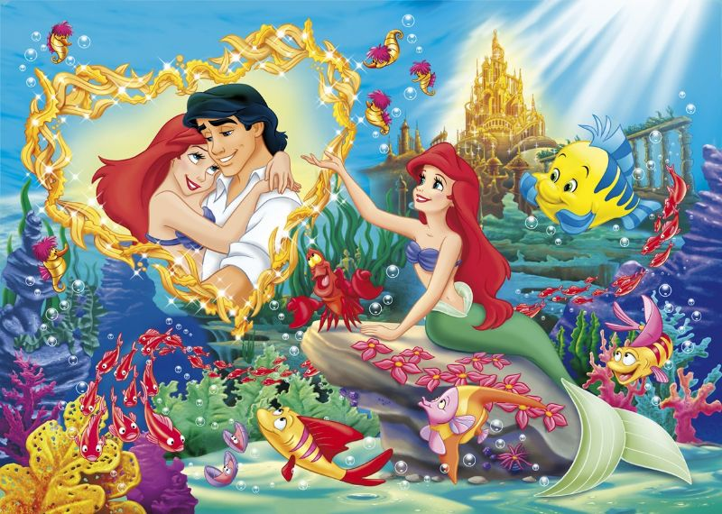 Clementoni 104 Parça Little Mermaid Dream