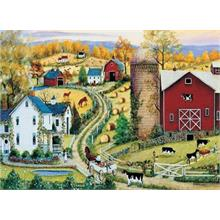 Masterpieces 1000 Parça Puzzle Going to Town