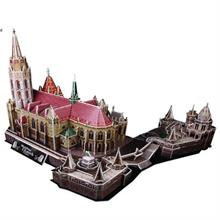 Cubic Fun 3 Boyulu Puzzle Matthias Church Fisherman s Bastion 176 Parça