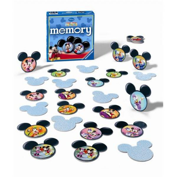 Ravensburger Mickey Club House Memory