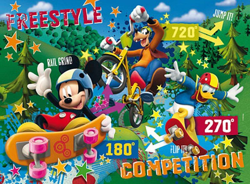 Clementoni 104 Parça Club House Mickey Mouse Puzzle