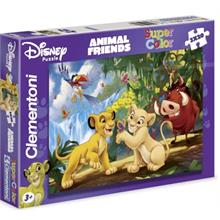 Clementoni 2x20 Parça Puzzle Animal Friends