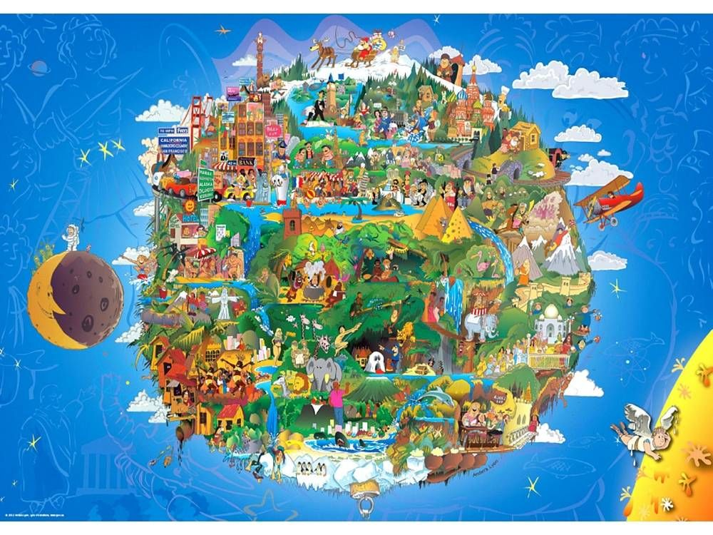 Heye Puzzle 1000 Parça The Earth