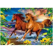 Clementoni 1000 Parça 3D Puzzle Horses in the Surf