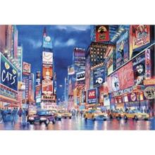 Clementoni Fluorescent Neon 1000 Parça Puzzle New York Lights