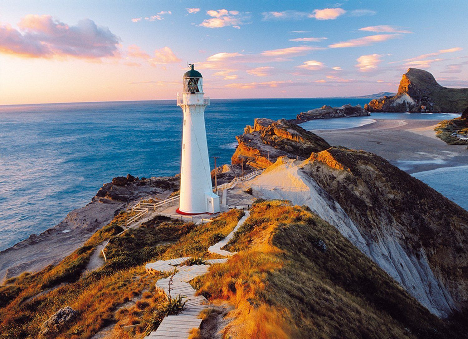 Clementoni Puzzle 1000 Parça New Zeland Lighthouse